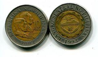 10 песо 2006 год Филиппины