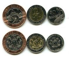 Набор монет Нигерии