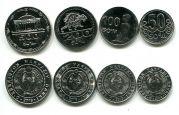 Набор монет Узбекистана 2018 год