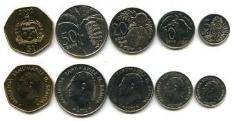 Набор монет Самоа