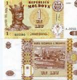 1 лей 2010 год Молдова