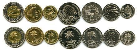 Набор монет Кокосовых островов 2004 год