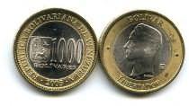 1000 боливар биметалл Венесуэла