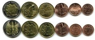 Набор монет Азербайджана