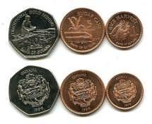 Набор монет Гайаны (сельское хозяйство)