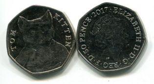 1 шиллинг 1950 год Великобритания