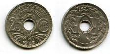 25 сантим 1928 год Франция