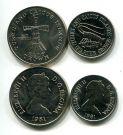 Набор монет Теркс и Кайокс 1981 год