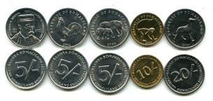 Набор монет Сомали