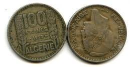 100 франков Алжир (французский)