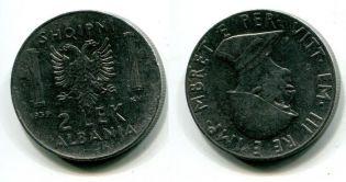 2 лек 1939 год Албания итальянская