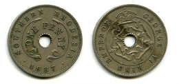 1 пенни 1941 год Южная Родезия