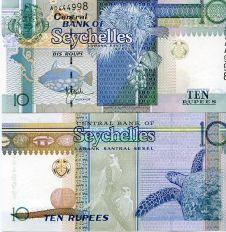 10 рупий Сейшельские острова