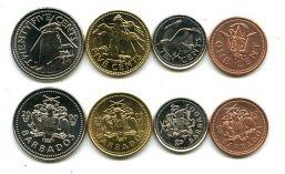Набор монет Барбадоса (маяк)