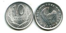 10 франков 1961 год Мали
