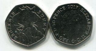 1 пенни 1905 год Великобритания