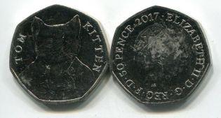 1 пенни 1908 год Великобритания