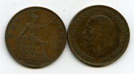 1 пенни 1936 год Великобритания