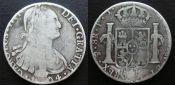 8 реалов 1794 год Испания
