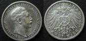 2 марки 1900-е Германия Пруссия A