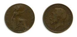 1/2 пенни 1924 год Великобритания
