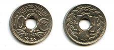 10 сантим 1924 год Франция