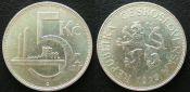 5 крон Чехословакия 1929 год