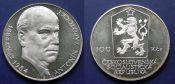 100 крон 1984 год Антонин Запотоцкий Чехословакия
