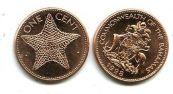 1 цент 1998 год Багамы