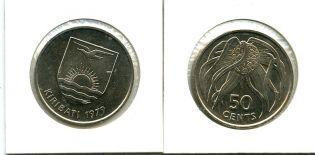 50 центов 1979 год Кирибати
