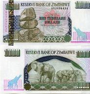 1000 долларов 2003 год Зимбабве