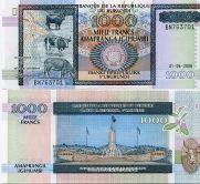 Бурунди 1000 франков