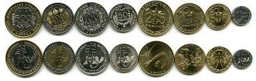 Набор монет Западно-Африканского союза