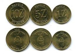 Набор монет Заира