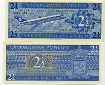2 1/2 гульдена 1970 год Нидерландские Антиллы