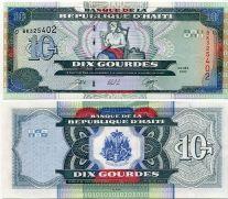 10 гурд 2000 год Гаити