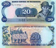 20 кордоба Никарагуа