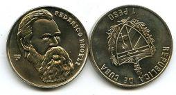 1 песо 2002 год (Ф.Энгельс) Куба