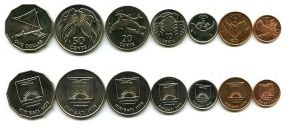 Набор монет Кирибати