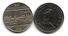 1 доллар 1982 год Канада