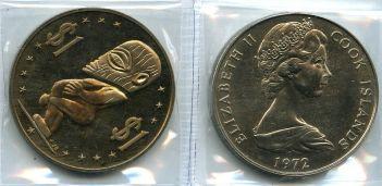 1 доллар 1972, 1976 год Остров Кука