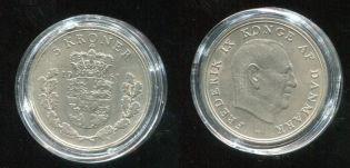 5 крон 1961 год Дания