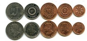 Набор монет Туркменистана