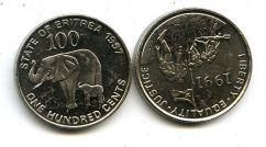 100 центов 1997 год Эритрея