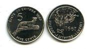 5 центов Эритрея