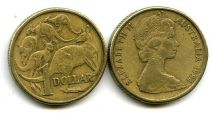 1 доллар 1984 год Австралия