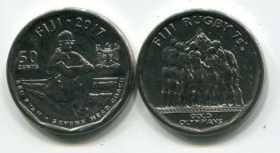 50 центов 1996 год Фиджи