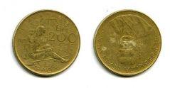 200 лир 1980 год (ФАО) Италия