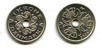 1 крона 1992 год Дания