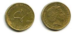 1 доллар 2001 год Австралия